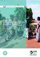 La réforme des finances publiques en Afrique de l'Ouest | Les innovations, les enjeux et les enseignements