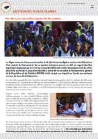 Fonds commun sectoriel de l'éducation - Gestion des flux